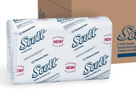 Scott<sup>&reg;</sup> C-Fold Towels